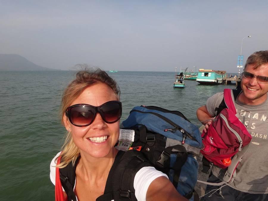 FLASHPACKER | Karin und Henning als Backpacker auf Phu Quoc in Vietnam