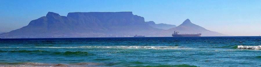 Afrika-Kapstadt-Tafelberg
