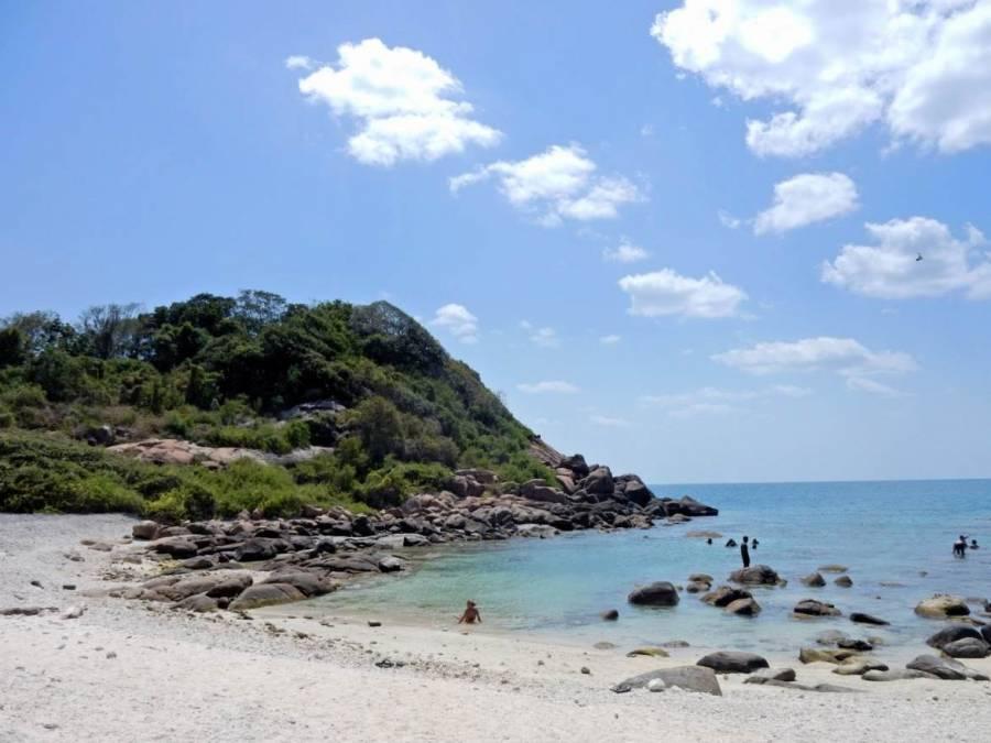Sri Lanka | Eine fast menschenleere Bucht auf Pigeon Island