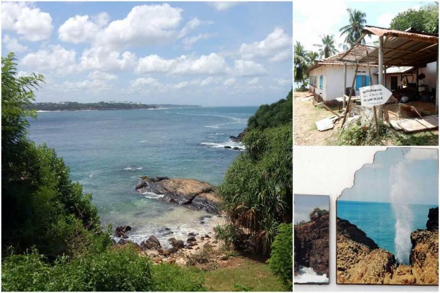 Sri Lanka | Das berühmte Blow Hole bei Dickwella ist ein Naturspektakel an der Westküste