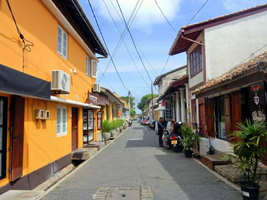 Sri Lanka | Blick in die kleinen Gassen der Altstadt von Galle
