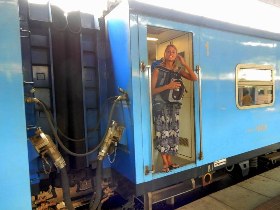 Sri Lanka | Bild des komfortablen Zugs von Trincomalee nach Colombo
