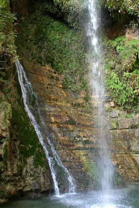 Ein Gedi | Wunderschöner Wasserfall in der subtropischen Oase inmitten der Wüste