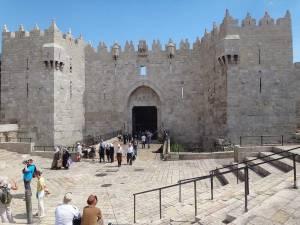 Jerusalem | Sehenswürdigkeiten: Das Damaskustor zur Altstadt