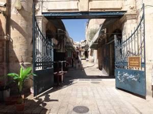 Jerusalem | Ein Tor öffnet den Weg in die Gassen der Altstadt