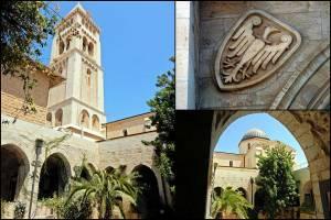Jerusalem | Sehenswürdigkeiten: Die Erlöserkircher wurde von Wilhelm II. eingeweiht und trägt das Symbol des Preußischen Adlers
