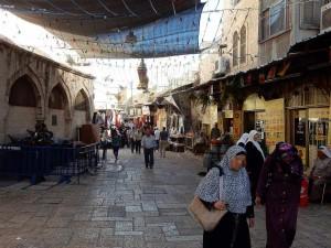 Jerusalem | Das orientalisch anmutende Muslimische Viertel der Altstadt