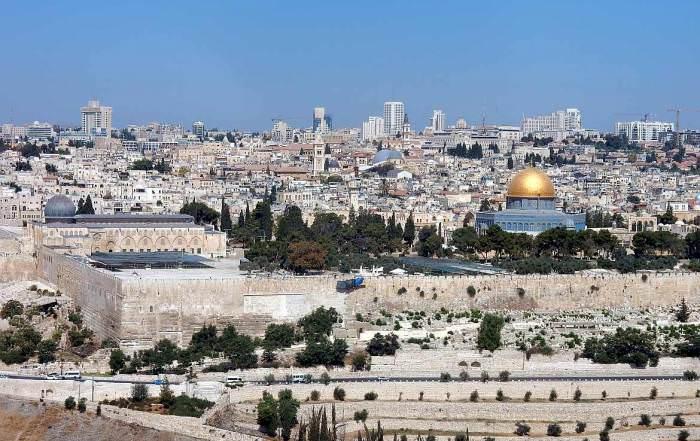 Israel | Panorama auf die Altstadt in Jerusalem
