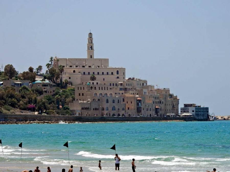 Tel Aviv | Sehenswürdigkeiten: Die orientalische Altstadt Jaffa vor dem Mittelmeer