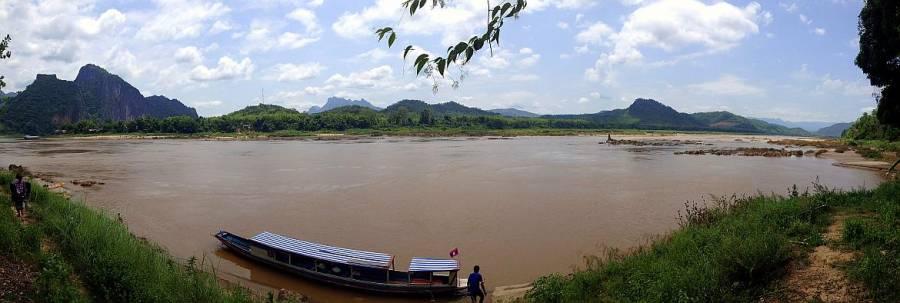 Laos | Panorama auf den Mekong