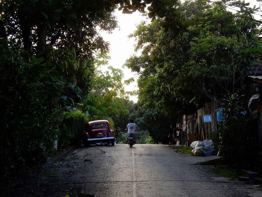 Die Nebenstraßen in Luang Prabang