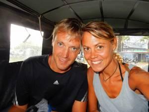 Kambodscha | Karin und Henning m Tuk Tuk auf Entdeckertour von Angkor Wat & Co.