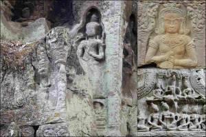 Kambodscha | Typische Steinbilder im Angkor Archälogischen Park
