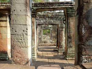 Kambodscha | Ruinen des Ta Prohm Tempels