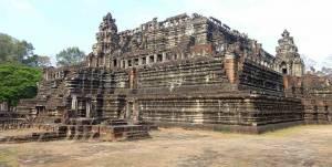 Kambodscha | Der Tempel Angkor Thom von Außen