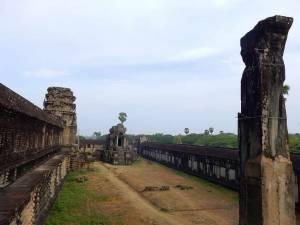 Kambodscha | Angkor Wat Tempel Innenansicht