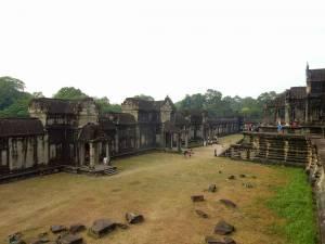 Kambodscha | Angkor Wat Gelände im Inneren der Tempelanlage