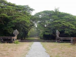 Kambodscha | Parkanlage im Tempel Angkor Wat