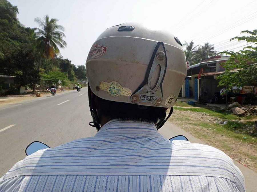 Kambodscha | Moped Taxi beim Grenzübertritt von Kambodscha nach Vietnam