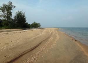 Kambodscha | Koh Thmei weitläufiger Strand im Süden der Insel