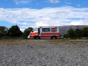 Neuseeland | Camper Hippie von Apollo in der Nähe von Christchurch