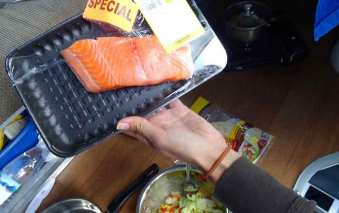 Neuseeland | Mit Specials beim Einkaufen sparen. Einige Tipps haben wir zusammengefasst. Hier ein Beispiel: Sonderangebot Lachs