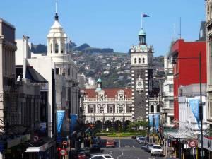 Neuseeland | Südinsel, Dunedin. Blick auf die Stadt