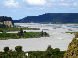 Neuseeland | Südinsel, Inland Scenic Route Panorama auf den Waitaki River
