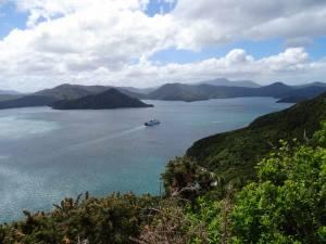 Neuseeland | Südinsel, Fähre von Picton nach Wellington