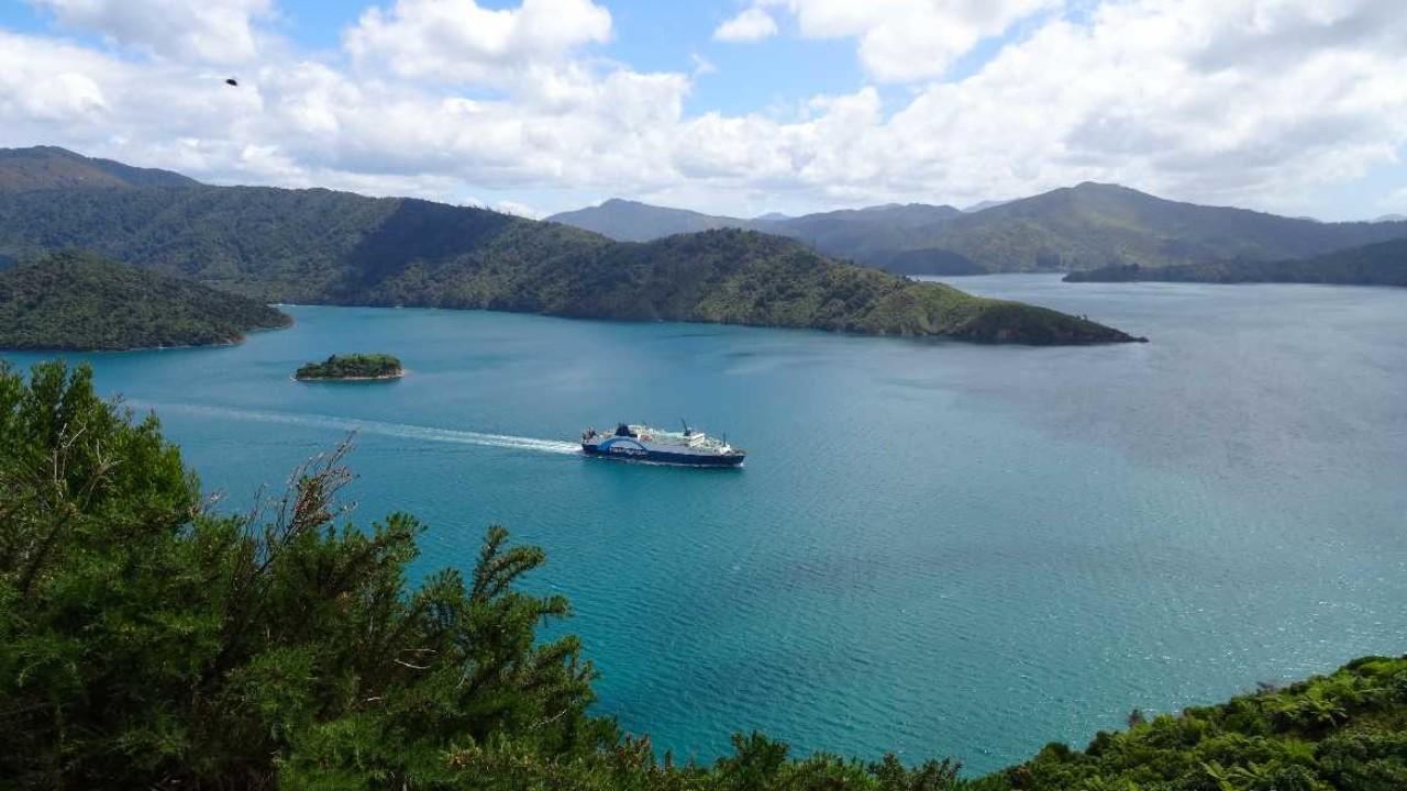 Karte Neuseeland Südinsel Zum Ausdrucken.Anleitung Mit Der Fähre Von Picton Nach Wellington In Neuseeland