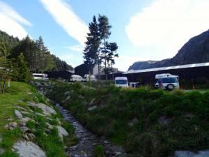 Neuseeland | Südinsel, QBox Motor Camp, unser Campingplatz in Queenstown in gehweite zur Stadt umzingelt von Bergen