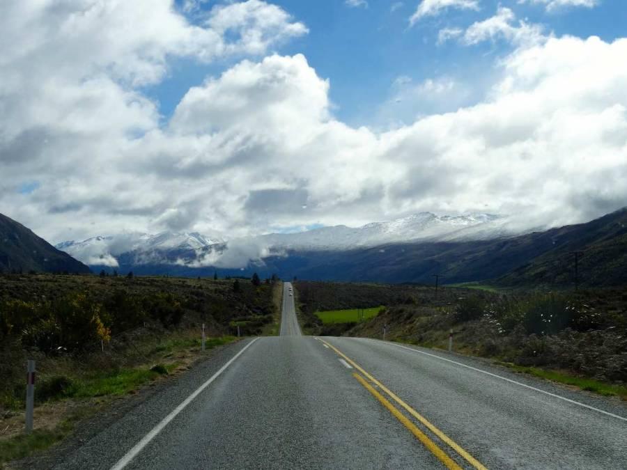 Neuseeland | Südinsel, Straße nach Queenstown