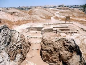 Palästina | Sehenswürdigkeiten: Die Ausgrabungsstätte der Stadtmauern von Jericho
