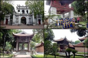 Vietnam | Norden, der Literaturtempel in Hanoi. Verschiedene Eindrücke der Tempelanlage