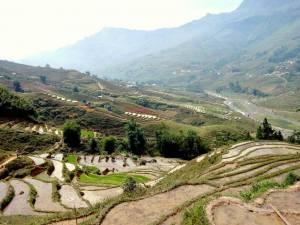 Vietnam | Norden, Panorama des Muong Hou Valley bei Sa Pa