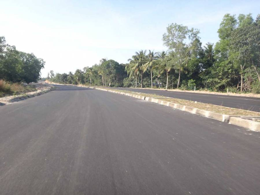 Vietnam | Süden, die neue Hauptstraße auf Phu Quoc