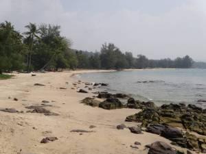 Vietnam | Süden, Ong Lang Beach Panorama auf Phu Quoc. Meer, Strand, Urwald