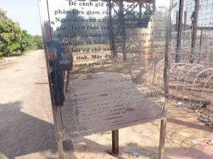 Vietnam | Süden, der Eingang zum Phu Quoc Prison