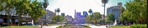 Buenos Aires | Sehenswürdigkeiten: Panorama über den Plaza de Mayo