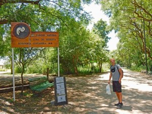 Buenos Aires | interessante Orte: Eingang zum Costanera Sur, einem grünen Naturpark