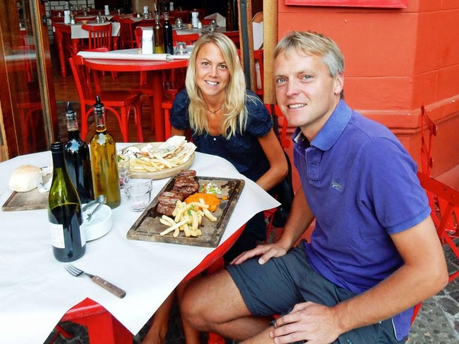 Argentinien | Essengehen und draußen sitzen in Buenos Aires Palermo