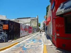 Argentinien | Gasse mit Graffiti in Buenos Aires Palermo