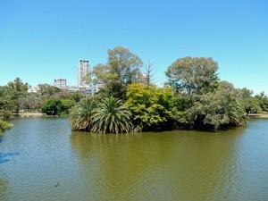Buenos Aires | interessante Orte: Teich im Paseo Rosedal von Palermo