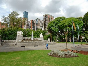 Argentinien | Plaza Alemania in Buenos Aires