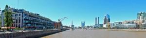 Buenos Aires | interessante Orte: Die berühmte Brücke Puente Mujer am Puerto Maderos