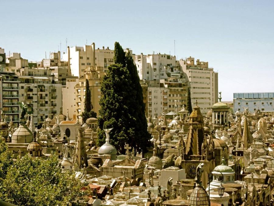 Buenos Aires | Sehenswürdigkeiten: Die Dächer des Friedhofs von Recoleta