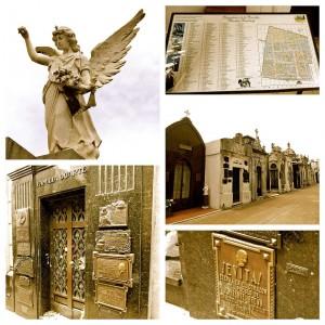 Buenos Aires | Sehenswürdigkeiten: Das Grab von Evita Peron auf dem berühmten Friedhof von Recoleta