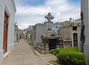 Buenos Aires | Sehenswürdigkeiten: Gassen vom Friedhof Recoleta
