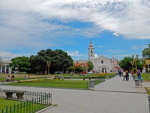 Buenos Aires | Sehenswürdigkeiten: Die Kirche Nuestra Senora Pilar am Eingang zum Friedhof von Recoleta