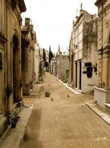Buenos Aires | Sehenswürdigkeiten: Stillleben auf dem Friedhof von Recoleta